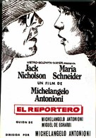 Professione: reporter - Spanish Movie Poster (xs thumbnail)