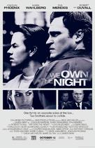 We Own the Night - Movie Poster (xs thumbnail)