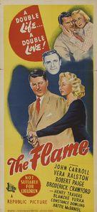 The Flame - Australian Movie Poster (xs thumbnail)