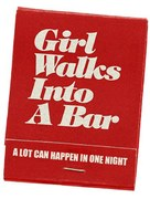 Girl Walks Into a Bar - Logo (xs thumbnail)