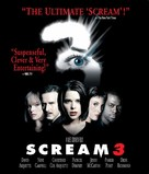 Scream 3 - Blu-Ray cover (xs thumbnail)