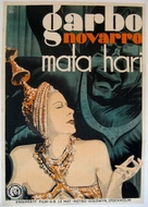 Mata Hari - Swedish Movie Poster (xs thumbnail)