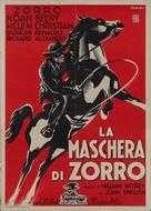 Zorro Rides Again - Italian Movie Poster (xs thumbnail)