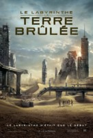Maze Runner: The Scorch Trials - French Movie Poster (xs thumbnail)