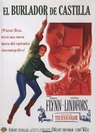 Adventures of Don Juan - Spanish Movie Cover (xs thumbnail)