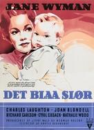 The Blue Veil - Danish Movie Poster (xs thumbnail)
