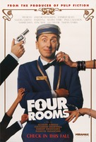 Four Rooms - Movie Poster (xs thumbnail)