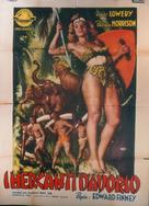 Queen of the Amazons - Italian Movie Poster (xs thumbnail)
