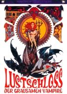 La vampire nue - German DVD movie cover (xs thumbnail)