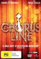 A Chorus Line - Australian DVD movie cover (xs thumbnail)
