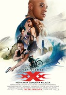 xXx: Return of Xander Cage - Bosnian Movie Poster (xs thumbnail)
