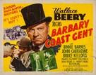 Barbary Coast Gent - Movie Poster (xs thumbnail)