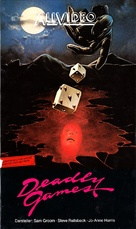 Deadly Games - German VHS cover (xs thumbnail)