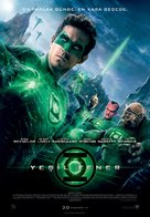 Green Lantern - Turkish Movie Poster (xs thumbnail)