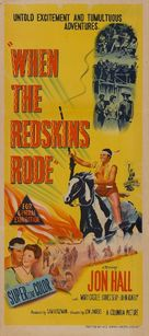 When the Redskins Rode - Australian Movie Poster (xs thumbnail)