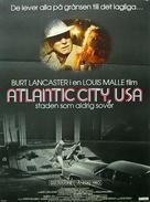 Atlantic City - Swedish Movie Poster (xs thumbnail)