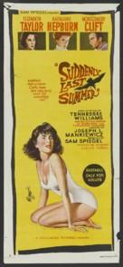 Suddenly, Last Summer - Australian Movie Poster (xs thumbnail)