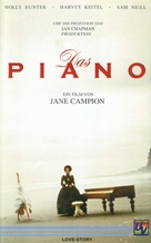 The Piano - German VHS cover (xs thumbnail)