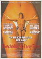 The People Vs Larry Flynt - Spanish Movie Poster (xs thumbnail)