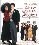 Four Weddings and a Funeral - Polish Blu-Ray cover (xs thumbnail)