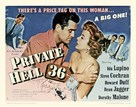 Private Hell 36 - Movie Poster (xs thumbnail)