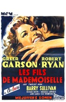 Her Twelve Men - Belgian Movie Poster (xs thumbnail)