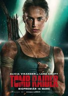 Tomb Raider - Swedish Movie Poster (xs thumbnail)