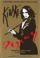 Kinski Paganini - German DVD cover (xs thumbnail)