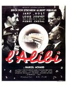 L'alibi - French Movie Poster (xs thumbnail)