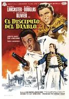 The Devil's Disciple - Spanish Movie Poster (xs thumbnail)
