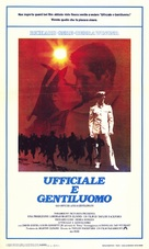 An Officer and a Gentleman - Italian Movie Poster (xs thumbnail)