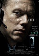 Den skyldige - Swedish Movie Poster (xs thumbnail)