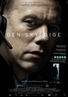 Den skyldige - Swedish Movie Poster (xs thumbnail)