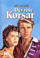 The Crimson Pirate - German Movie Cover (xs thumbnail)