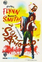 San Antonio - Spanish Movie Poster (xs thumbnail)