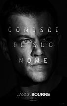 Jason Bourne - Italian Movie Poster (xs thumbnail)
