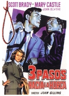 Three Steps to the Gallows - Spanish Movie Poster (xs thumbnail)