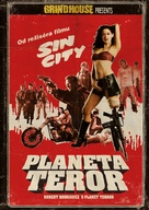 Grindhouse - Czech DVD cover (xs thumbnail)