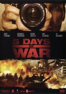 5 Days of War - Thai DVD movie cover (xs thumbnail)