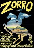 Zorro - German Movie Poster (xs thumbnail)