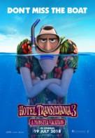 Hotel Transylvania 3: Summer Vacation - Malaysian Movie Poster (xs thumbnail)