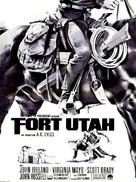 Fort Utah - French Movie Poster (xs thumbnail)