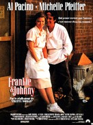 Frankie and Johnny - French Movie Poster (xs thumbnail)