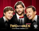 """""""Two and a Half Men"""" - Spanish Movie Poster (xs thumbnail)"""