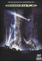 Godzilla - German DVD movie cover (xs thumbnail)