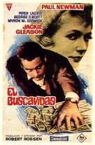 The Hustler - Spanish Movie Poster (xs thumbnail)