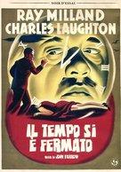 The Big Clock - Italian DVD cover (xs thumbnail)