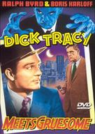 Dick Tracy Meets Gruesome - DVD cover (xs thumbnail)