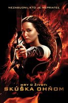 The Hunger Games: Catching Fire - Slovak Movie Cover (xs thumbnail)