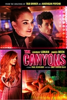 The Canyons - DVD cover (xs thumbnail)